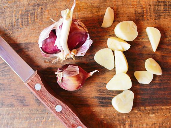 Масляная заливка с чесноком для черри рецепт
