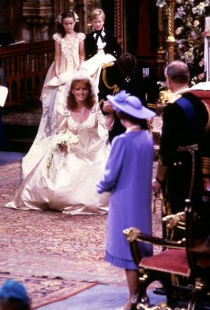 Фото №4 - Предчувствие беды: что пошло не так на свадьбе Сары Фергюсон и принца Эндрю