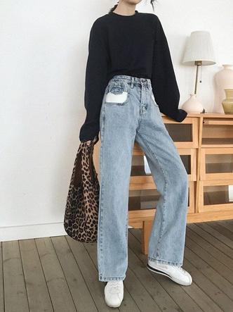 Фото №8 - Какие джинсы носить осенью 2020: 7 главных трендов