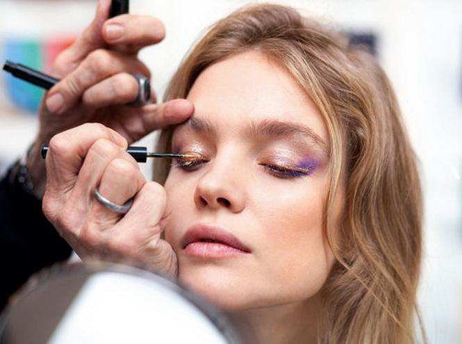 Фото №6 - Звезда Востока: Рождественская make-up коллекция Натальи Водяновой для Guerlain