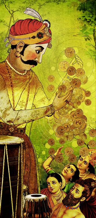 Фото №2 - Предания народов мира: Большой барабан, индийская сказка