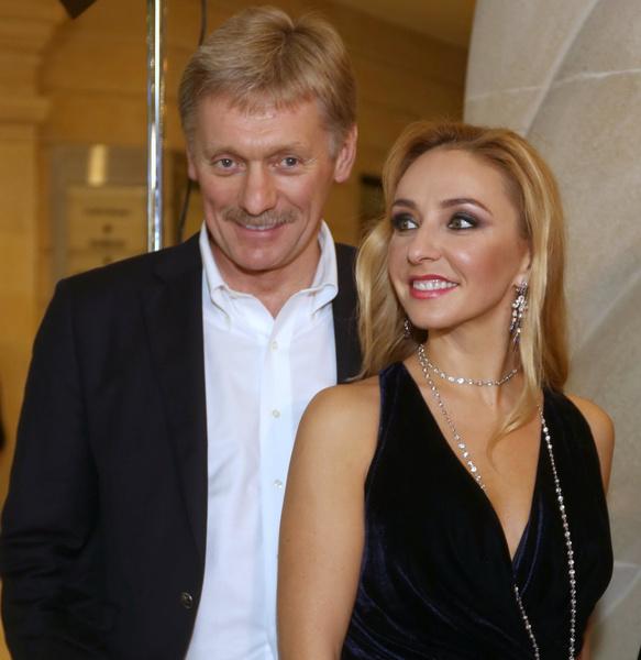 Дмитрий Песков и Татьяна Навка заразились коронавирусом