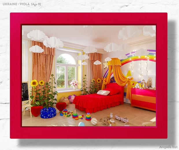 Фото №4 - Комната-мечта: 7 детских, созданных по рисункам малышей