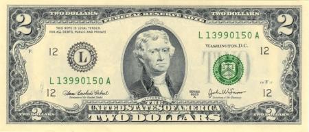 Фото №1 - Картинная галерея: доллар США