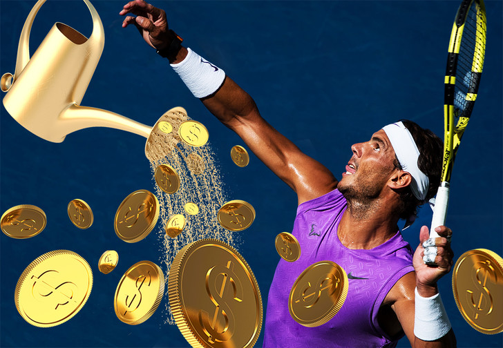 Фото №1 - Сколько стоит вырастить профессионального теннисиста