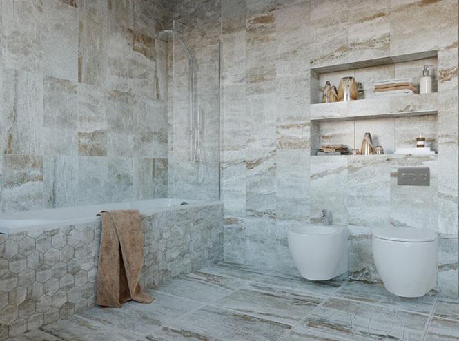 Фото №5 - От золота до дерева: 4 оригинальных идеи дизайна ванной комнаты