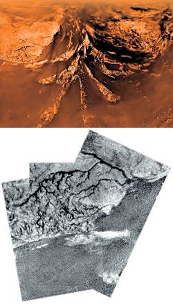 Фото №2 - Черные моря Титана