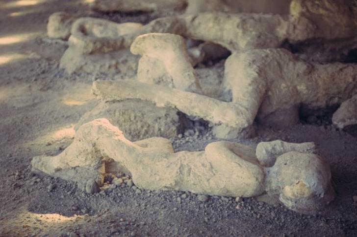 Фото №1 - Мозг жертвы извержения Везувия превратился в стекло