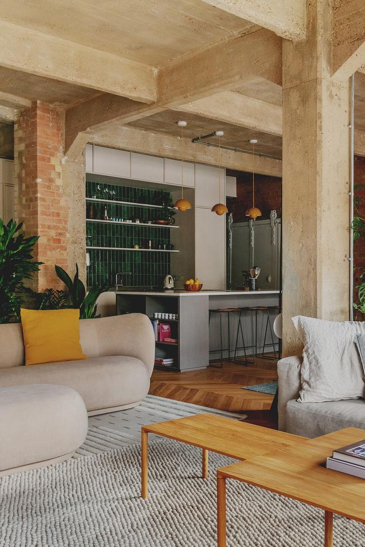 Фото №4 - Квартира в здании бывшего склада в Лондоне