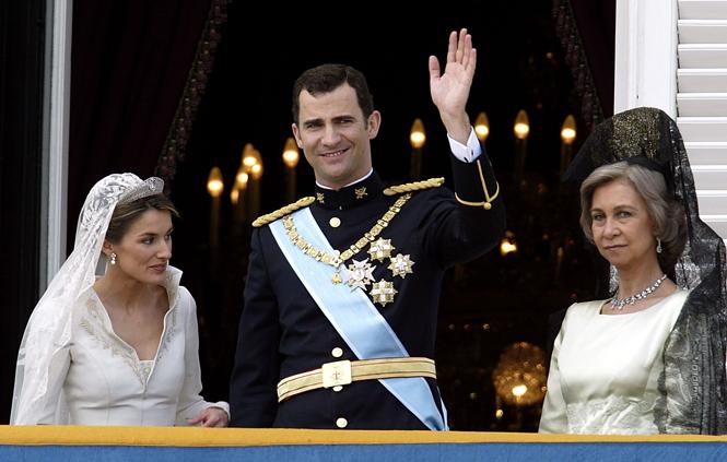 Фото №63 - Самые забавные моменты на королевских свадьбах (истории в фотографиях)