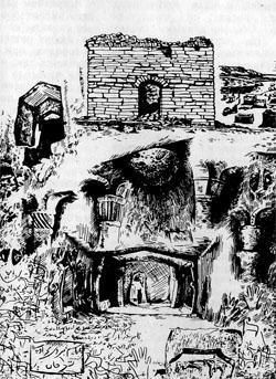 Фото №2 - Подземные храмы «мертвой страны»