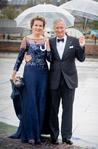 Фото №32 - Забавы королевского двора: самые интересные моменты юбилея Харальда и Сони