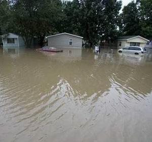 Фото №1 - Центральные штаты США затопило