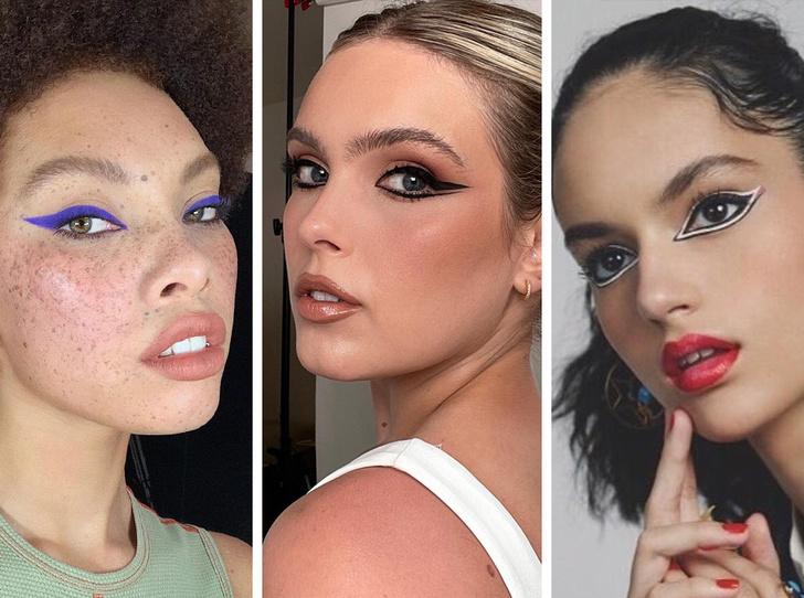 Фото №1 - 5 необычных вариантов макияжа со стрелками, которые покорят вас и окружающих