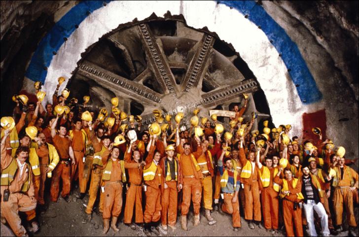 Фото №3 - Ла-Манш: 10 фактов о главном скоростном подводном коридоре Европы