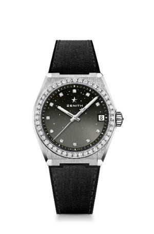 Фото №7 - Космические новинки: Zenith представили женские часы Defy Midnight