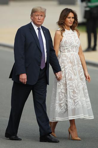 Фото №11 - Звездный час Мелании Трамп: как Первая леди США проявила себя на саммите НАТО