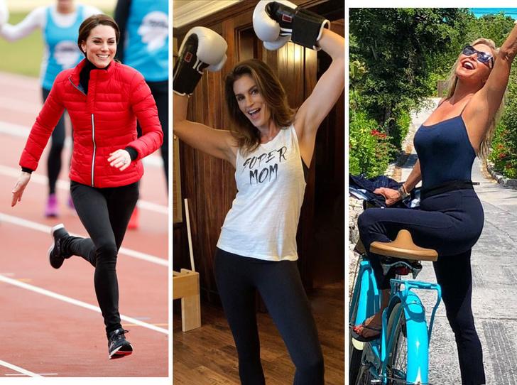 Фото №1 - Фитнес против возраста: как тренироваться в 35, 45 и 55 лет