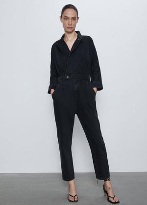 Фото №5 - Этим летом всем нам нужен джинсовый комбинезон как у Эммы Робертс. Собрали 10 стильных вариантов из денима и не только