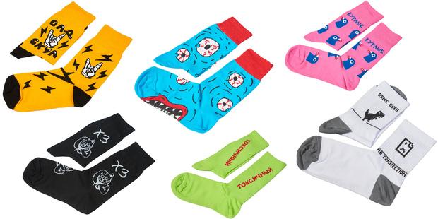 Фото №2 - Что купить: ищем модные носки, чтобы скрасить холодное лето
