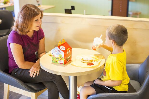 Фото №2 - Как ходить с ребенком в «Макдоналдс»