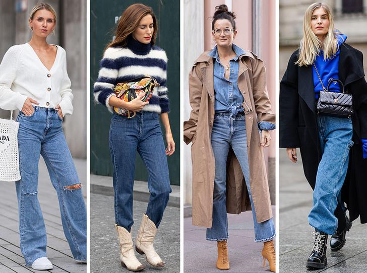 Фото №1 - Самые модные джинсы осени и зимы 2021/22