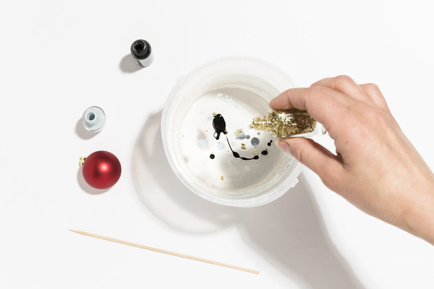 Фото №2 - Hand-made: украшаем елочные игрушки