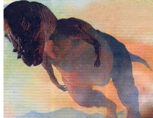 Фото №1 - Динозавров погубили... космические странники
