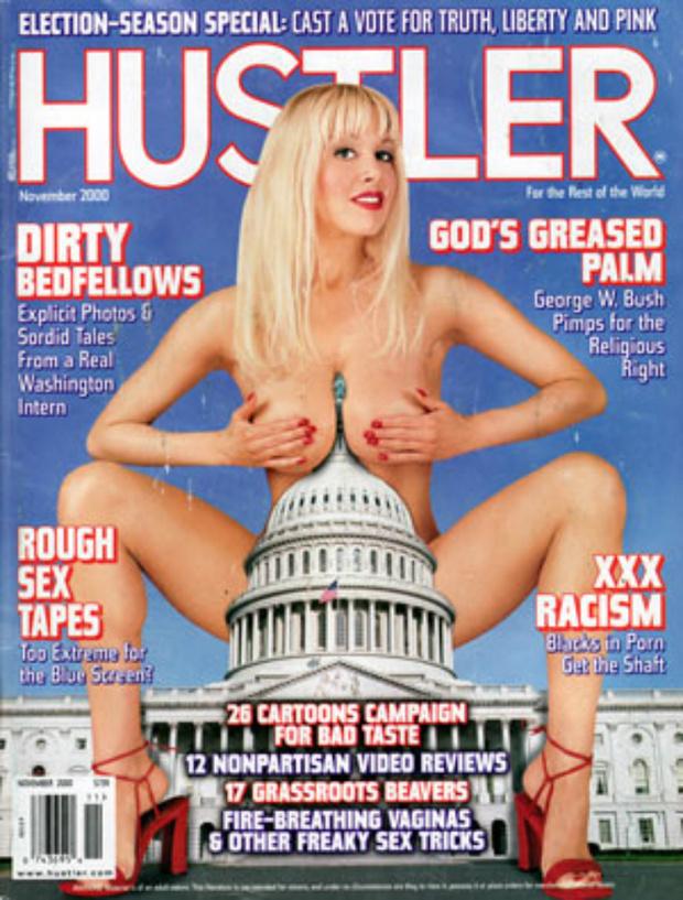 Фото №4 - Умер издатель Hustler Ларри Флинт. Вспоминаем лучшие обложки скандального журнала