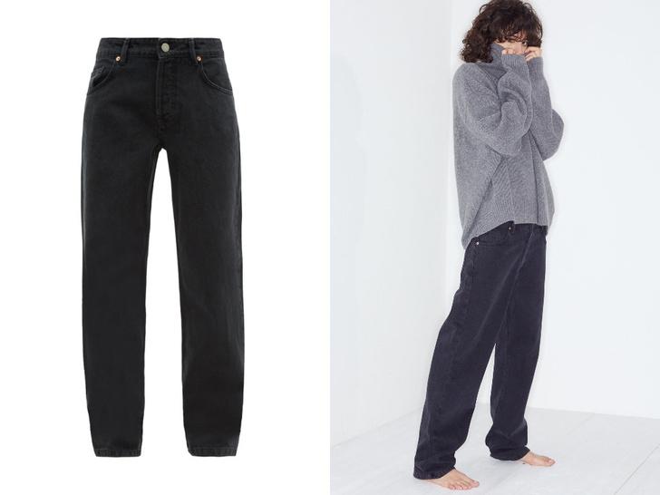 Фото №1 - Актуальные черные джинсы, которые стройнят