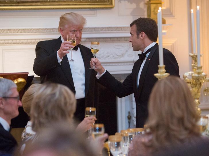 Фото №17 - Как Трамп Макрона принимал: самые яркие детали госвизита французской Первой пары в США