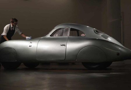 Как в США провалился аукцион по продаже самого редкого Porsche