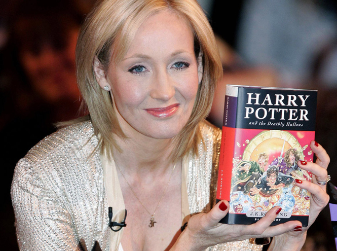 Фото №5 - 10 фактов о Джоан Роулинг и Гарри Поттере