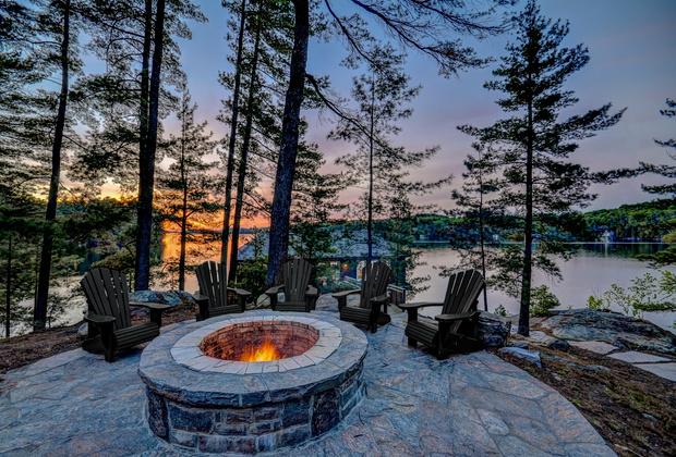 Фото №14 - Деревянный коттедж с видом на озеро в Онтарио