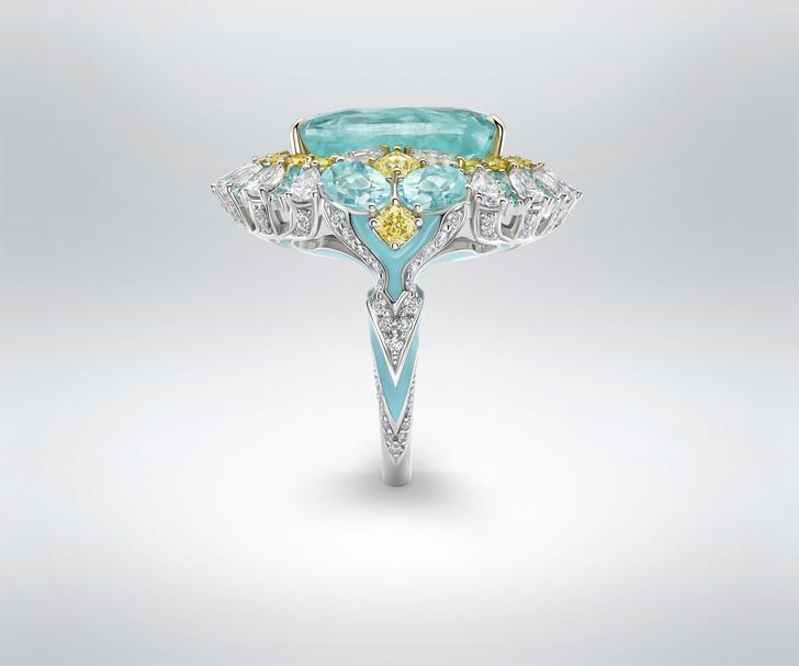 Фото №2 - Морская стихия: кольцо ювелирного бренда Parure Atelier