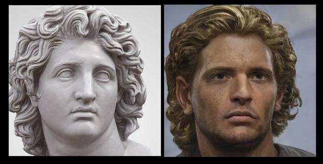 Фото №9 - Как выглядели бы в реальной жизни знаменитые статуи