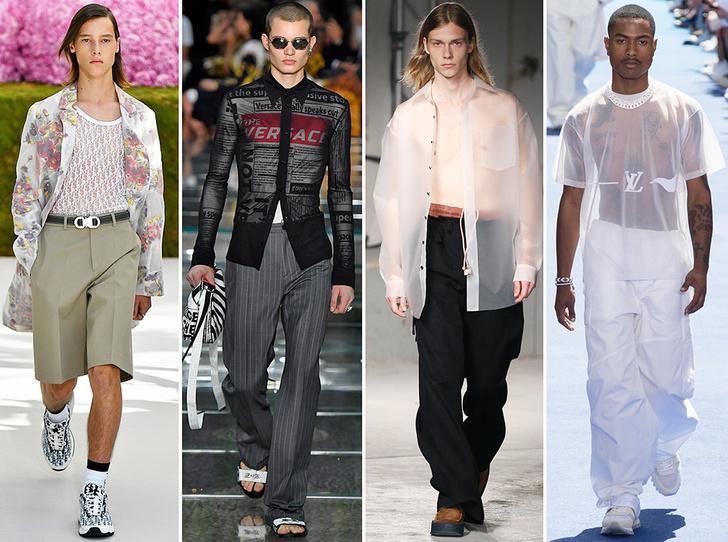 Фото №10 - 11 трендов c Недель мужской моды SS19, которые пригодятся не только мужчинам