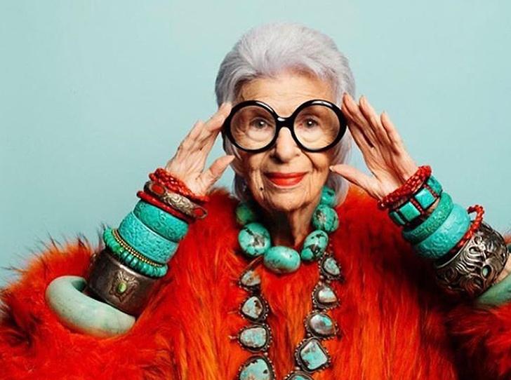 Фото №1 - Истории великолепной Айрис Апфель: о жизни, моде и любви длиною в жизнь