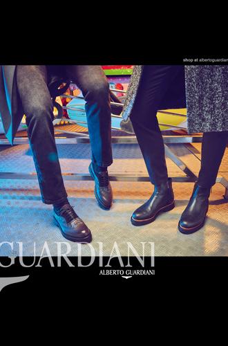 Фото №6 - Вечерний выход: новая рекламная кампания Alberto Guardiani осень-зима 16/17