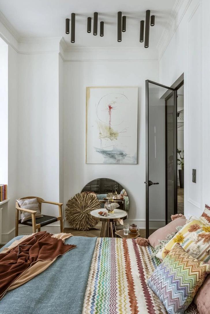 Фото №7 - Элегантная небрежность: квартира 54 м² в Варшаве
