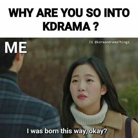 Фото №1 - 25 угарных мемов, которые поймут только фанаты корейских дорам