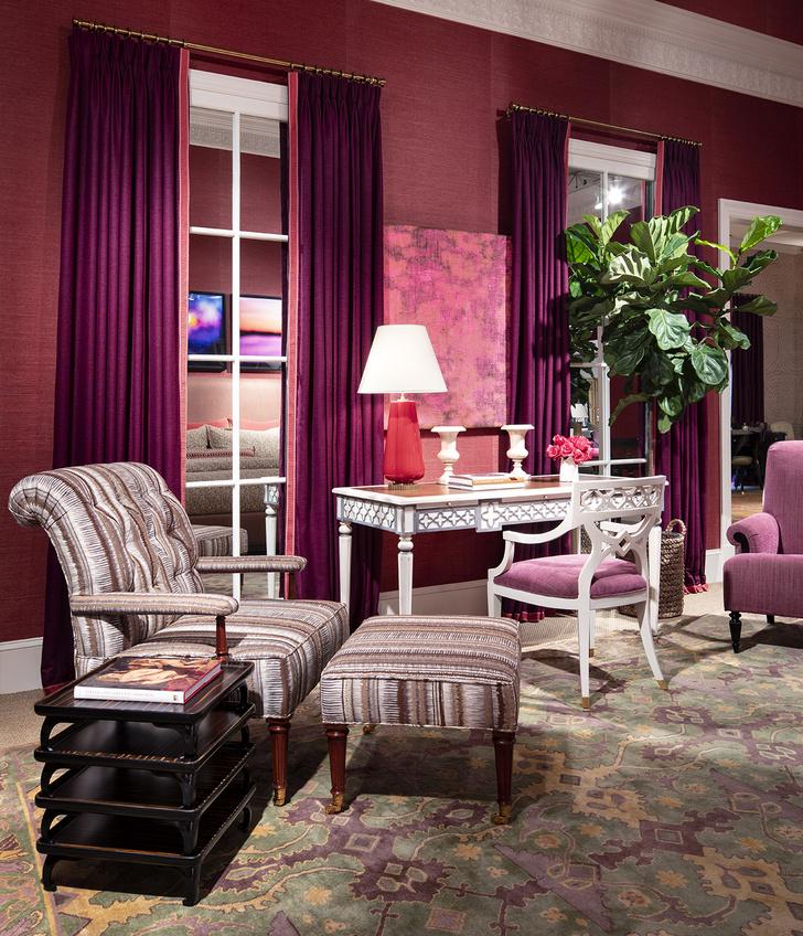 Фото №6 - Коллекция мебели Алексы Хэмптон для Theodore Alexander