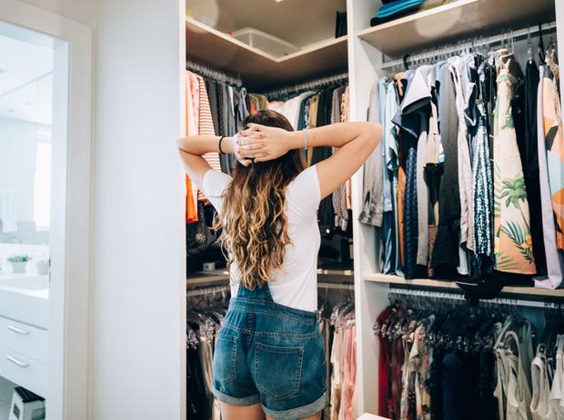 Фото №1 - Как организовать гардеробную