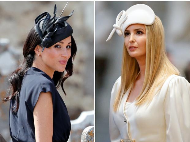 Фото №1 - Американские принцессы: что общего в стиле герцогини Меган и Иванки Трамп