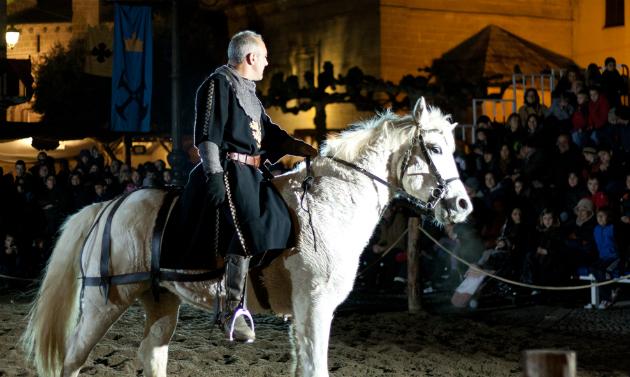 Фото №1 - Наваррские рыцари на ежегодном фестивале «Неделя Средневековья»