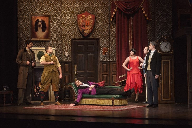 Фото №1 - В Москве прошла открытая репетиция «Очень смешной комедии о том, как шоу пошло не так»