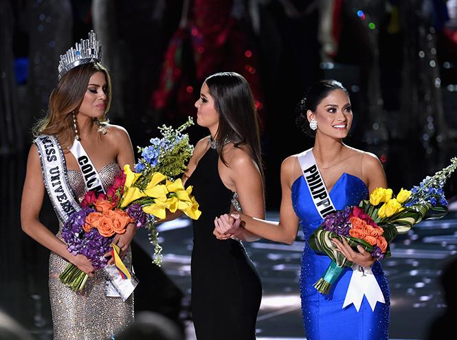 Фото №3 - На конкурсе «Мисс Вселенная 2015» корону вручили дважды