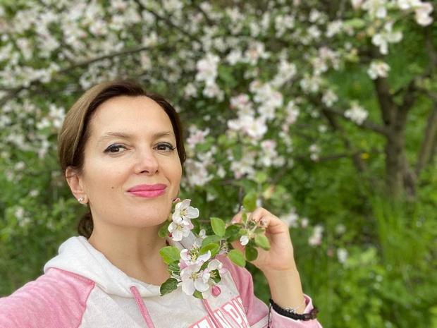 Фото №1 - Мария Порошина показала десятилетнюю дочь