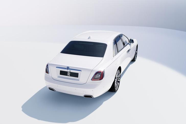Фото №3 - Rolls-Royce Ghost— лучшее в мире привидение с мотором. И полным приводом