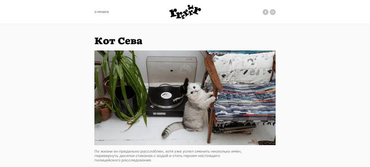 Фото №1 - Сайт дня: Интернет-журнал о домашних животных и их историях
